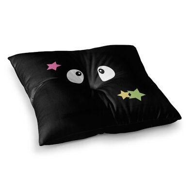 Shoot Germlins by Jackie Rose Floor Pillow Size: 26 x 26