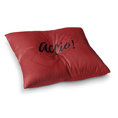 Accio! Remote Illustration by Jackie Rose Floor Pillow Size: 23 x 23