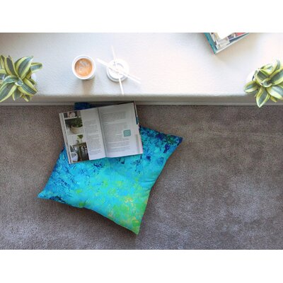 True Reflection by Ebi Emporium Floor Pillow Size: 23 x 23