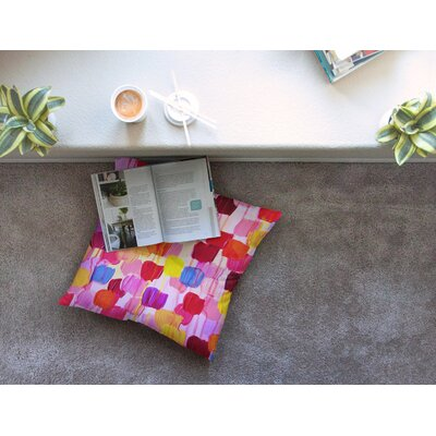 Dotty by Ebi Emporium Floor Pillow Size: 23 x 23