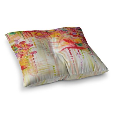 Stormy Moods by Ebi Emporium Floor Pillow Size: 23 x 23