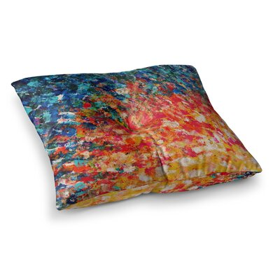 The Clash by Ebi Emporium Floor Pillow Size: 23 x 23