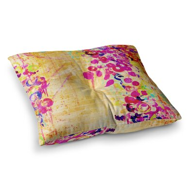 Wall Flowers by Ebi Emporium Floor Pillow Size: 23 x 23