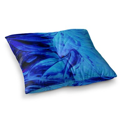 Petal Pinwheels by Ebi Emporium Floor Pillow Size: 26 x 26
