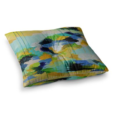 Journey to Paradise by Ebi Emporium Floor Pillow Size: 26 x 26