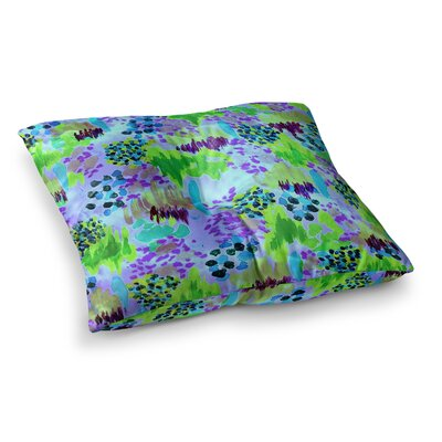 Lagoon Love by Ebi Emporium Floor Pillow Size: 23 x 23