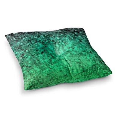 Romance Me by Ebi Emporium Floor Pillow Size: 26 x 26, Color: Teal/Green
