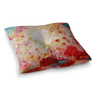 Summer Days by Ebi Emporium Floor Pillow Size: 23 x 23