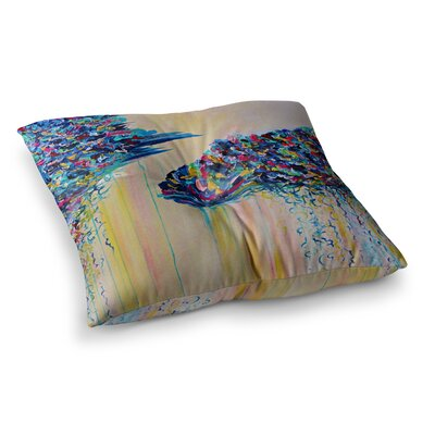 Silver Linings by Ebi Emporium Floor Pillow Size: 23 x 23