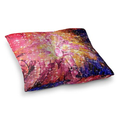 Out There by Ebi Emporium Floor Pillow Size: 26 x 26