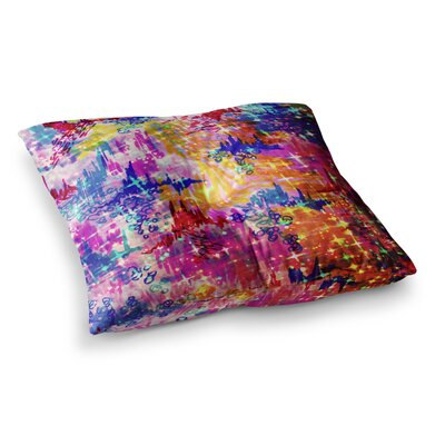 Sky Risers Glam by Ebi Emporium Floor Pillow Size: 23 x 23