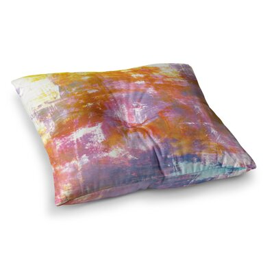 Off the Grid by Ebi Emporium Floor Pillow Size: 26 x 26, Color: Multi