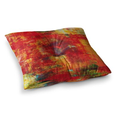 Autumn Harvest by Ebi Emporium Floor Pillow Size: 23 x 23
