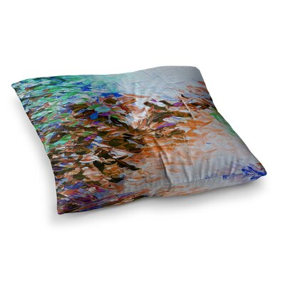Winter Retreat by Ebi Emporium Floor Pillow Size: 26 x 26