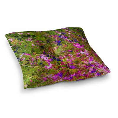 Beyond the Horizon by Ebi Emporium Floor Pillow Size: 23 x 23