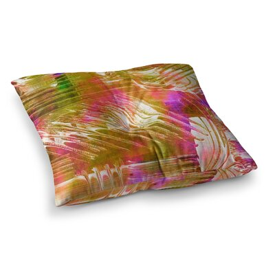 Flamenco Moves by Ebi Emporium Floor Pillow Size: 26 x 26