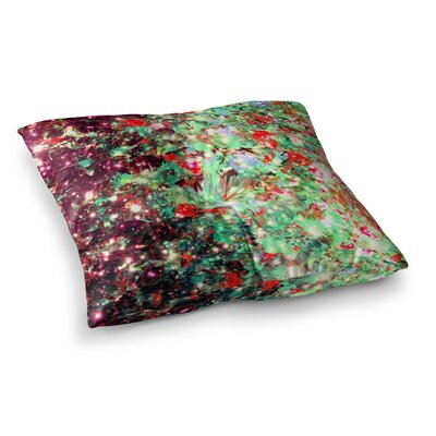 Mistletoe Nebula by Ebi Emporium Floor Pillow Size: 23 x 23