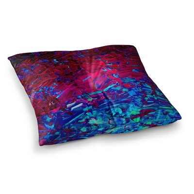 Eternal Tide by Ebi Emporium Floor Pillow Size: 23 x 23