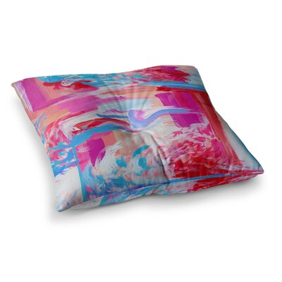 On the Move by Ebi Emporium Floor Pillow Size: 26 x 26