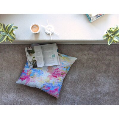 Whispered Song 1 by Ebi Emporium Floor Pillow Size: 26 x 26