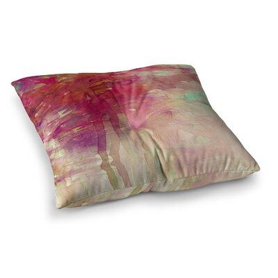 Carnival Dreams by Ebi Emporium Floor Pillow Size: 26 x 26, Color: Purple/Brown