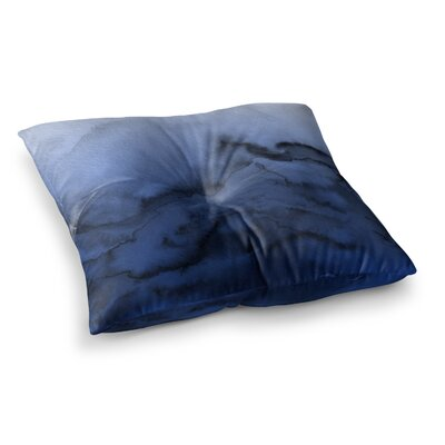Winter Waves by Ebi Emporium Floor Pillow Size: 23 x 23, Color: Pink