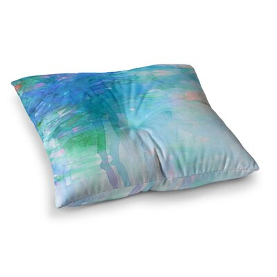 Childlike Wonder Pastel by Ebi Emporium Floor Pillow Size: 26 x 26