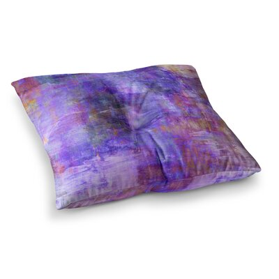 Fog Painting by Ebi Emporium Floor Pillow Size: 26 x 26