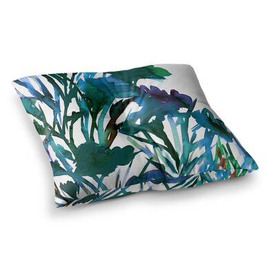 Petal for Your Thoughts by Ebi Emporium Floor Pillow Size: 26 x 26