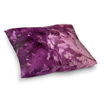 Splash Out by Ebi Emporium Floor Pillow Size: 26 x 26, Color: Pink/Purple