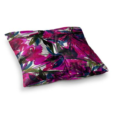 Floral Fiesta by Ebi Emporium Floor Pillow Size: 23