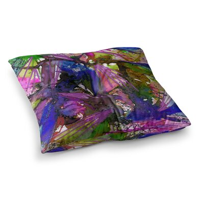 Birds of Prey by Ebi Emporium Floor Pillow Size: 23 x 23, Color: Multi