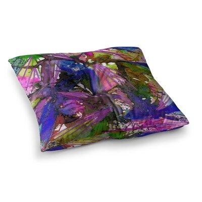 Birds of Prey by Ebi Emporium Floor Pillow Size: 26 x 26, Color: Multi
