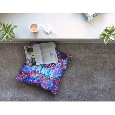 Oh So Fancy by Ebi Emporium Floor Pillow Size: 26 x 26