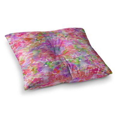 Jewel in the Crown by Ebi Emporium Floor Pillow Size: 23 x 23