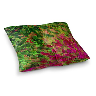 Watermelon Splash by Ebi Emporium Floor Pillow Size: 23 x 23