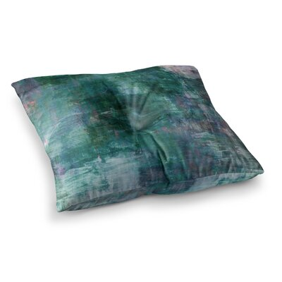 Planet Painting by Ebi Emporium Floor Pillow Size: 26 x 26