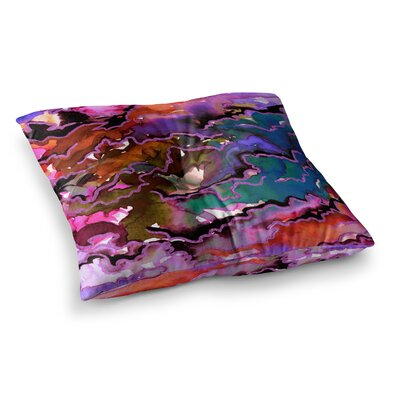Radiant Skies Painting by Ebi Emporium Floor Pillow Size: 23 x 23