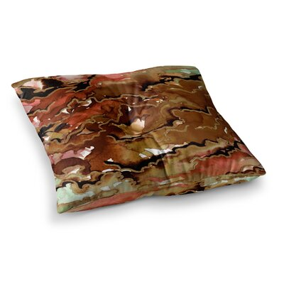 Texas Love Painting by Ebi Emporium Floor Pillow Size: 23 x 23