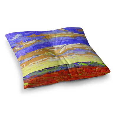 After the Storm by Jeff Ferst Floor Pillow Size: 26 x 26
