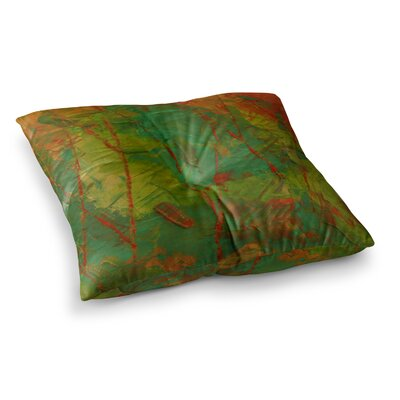 Evergreens by Jeff Ferst Floor Pillow Size: 26 x 26