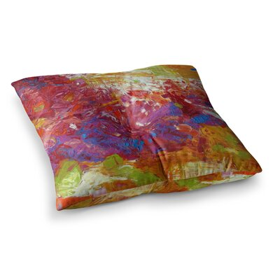 Sonoran Fantasy by Jeff Ferst Floor Pillow Size: 23 x 23