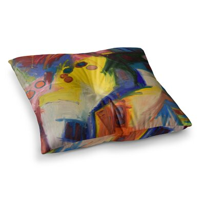 New York Chic by Jeff Ferst Floor Pillow Size: 26 x 26