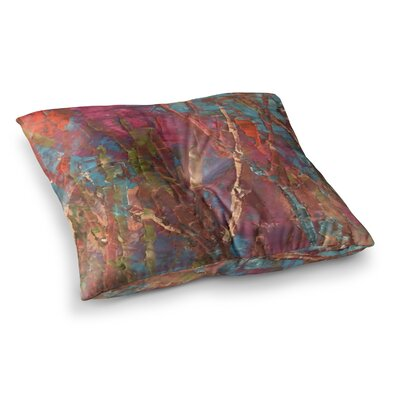 By Waters Painting by Jeff Ferst Floor Pillow Size: 23 x 23