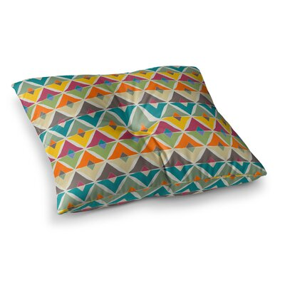 My Diamond by Julia Grifol Floor Pillow Size: 26 x 26