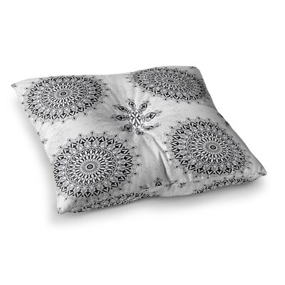 Mandala by Julia Grifol Floor Pillow Size: 23 x 23