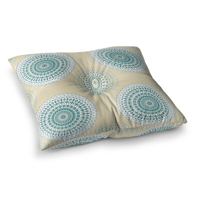 Soft Mandalas by Julia Grifol Floor Pillow Size: 26 x 26