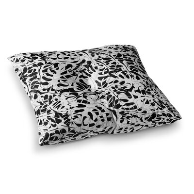 Leaves by Julia Grifol Floor Pillow Size: 26 x 26
