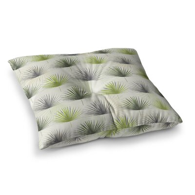 My Holidays Time by Julia Grifol Floor Pillow Size: 23 x 23