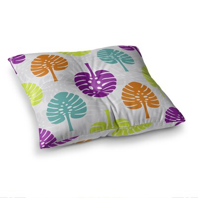 Tropico Digital by Julia Grifol Floor Pillow Size: 26 x 26